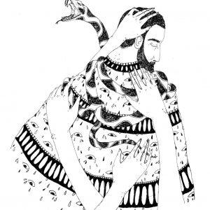"""Serpentes</br><span style=""""font-size:14px;"""">de Léa Machado</span>"""