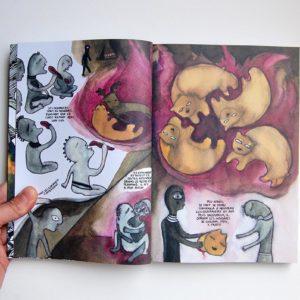 """Les errances du Vaurien</br><span style=""""font-size:14px;"""">de Cecilia Valagussa</span>"""
