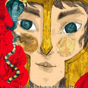 """Persée le tueur de monstres</br><span style=""""font-size:14px;"""">Conte d'AnastasiaOrtenzio</span></br><span style=""""font-size:14px;"""">Illustrations deCamille Gonzalez</span>"""