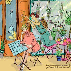 """Des soucis plein la tête</br><span style=""""font-size:14px;"""">de Lucie Massart</span>"""