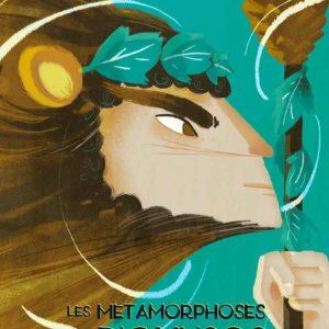 """Les Métamorphoses de Dionysos</br><span style=""""font-size:14px;"""">Conte d'AnastasiaOrtenzio</span></br><span style=""""font-size:14px;"""">Illustrations deCarolineAttia</span>"""