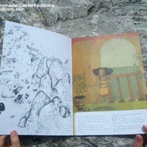 """Persée et Andromède</br><span style=""""font-size:14px;"""">Conte d'AnastasiaOrtenzio</br>Illustrations deCamille Gonzalez</span>"""