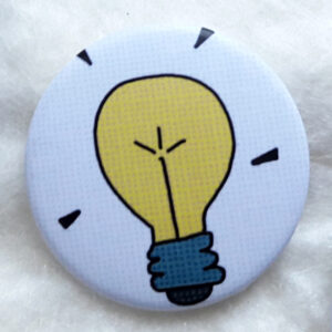 Petit badge Idée